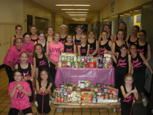 Pink Ladies Twirl to End Hunger