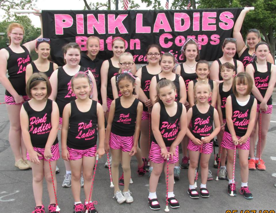 Pink Ladies Baton